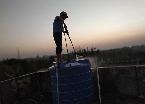 water tank cleaning in Dubai